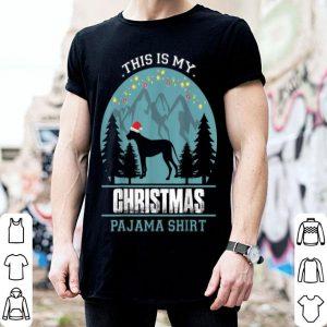 Beautiful This is my Christmas Pajama Great Dane Dog shirt