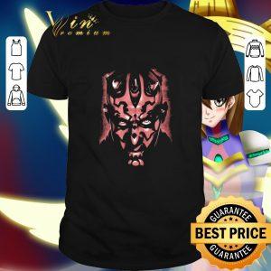 Cheap Star Wars The Phantom Menace Darth Maul Face Close Up shirt