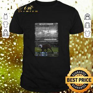 Cool Black cat Metlife stadium player of the game Dallas Cowboys shirt