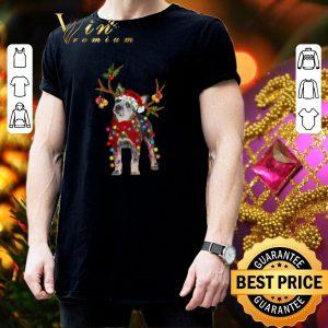 Cool Blue Heeler santa gorgeous reindeer Christmas shirt 2