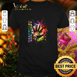 Cool Childcare Provider color shirt