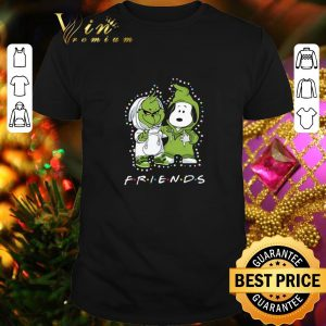 Cool Friends Baby Grinch and Snoopy shirt