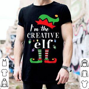 Hot Christmas santa's creative elf - funny Xmas costume shirt