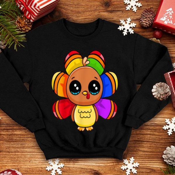 Hot Thanksgiving Gay Turkey tee Cute Family Gift Men Women Funny shirt