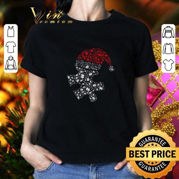 Nice Diamond Autism Santa Christmas shirt