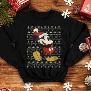 Nice Disney Vintage Mickey Mouse Christmas shirt
