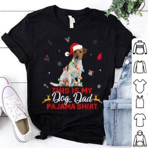 Nice Mens Christmas Jack Russell Terrier Pajama Lights Love Dog Dads shirt