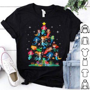Nice Mermaid Christmas Tree for Mermaid Lovers shirt