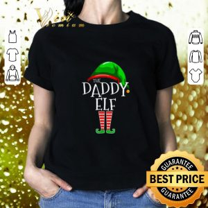 Nice The Daddy Elf Family Christmas shirt 1