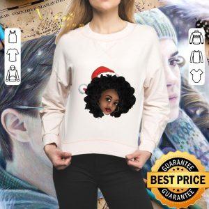 Official Afro Natural Black Women Christmas shirt