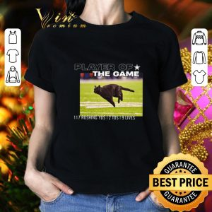 Official Cat player of the game 117 rushing yds 2 tds 9 lives shirt 1