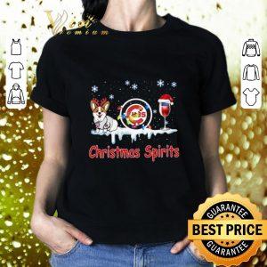 Official Chicago Cubs Corgi Christmas Spirit shirt