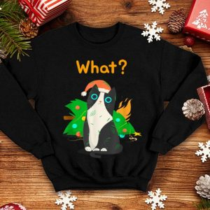 Official Christmas Tree Funny Cat Party Tee Men Women Kids shirt