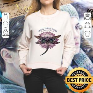 Official Dragonfly Choose to keep going Suicide Prevention Awareness shirt