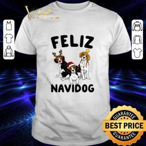 Official Feliz Navidog Beagle Christmas shirt