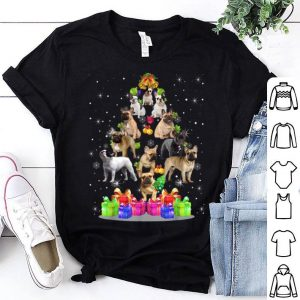 Official French Bulldog Tree Christmas Sweater Xmas Pet Dogs Gifts shirt