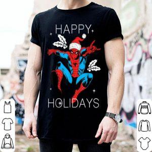 Official Marvel Spider-Man Happy Holidays Santa Christmas shirt