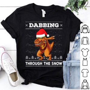 Original Dabbing Dinosaur T-Rex Dab Ugly Christmas Sweater shirt