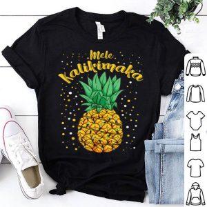 Original Mele Kalikimaka Christmas Hawaiian Xmas Clothing Gift Funny sweater