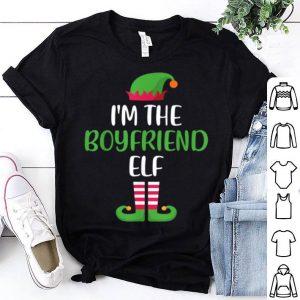Premium I'm The Boyfriend Elf Matching Family Group Christmas shirt