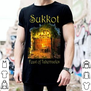 Pretty Hebrew Fall Feasts Sukkot Tabernacles Thanksgiving Booths shirt