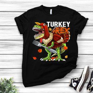 Pretty Thanksgiving T Rex Dinosaur Turkey Costume Kids Gift Boys shirt