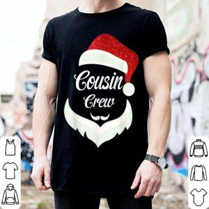 Top Cousin Crew Santa Christmas Family Matching Pajamas shirt