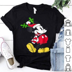 Top Disney Mickey Mouse Christmas Antler shirt