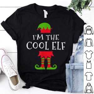 Top I'm The Cool Elf Family Matching Group Christmas shirt