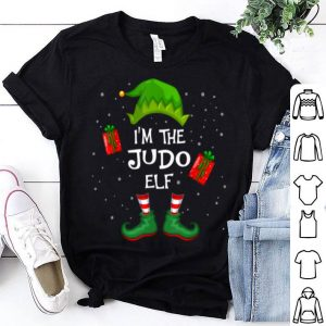 Top I'm The Judo Elf Funny Group Matching Family Xmas Gift sweater