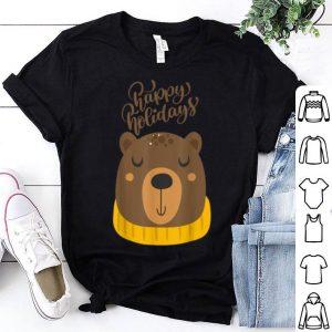 Top Lovely Bear Happy Holidays 2020 - Christmas Pajama shirt