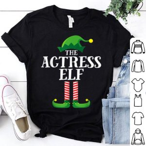 Awesome Actress Elf Matching Family Group Christmas Party Pajama sweater