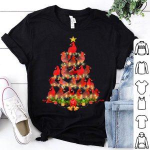 Awesome Cardinal Bird Christmas Tree Tee Cardinal Lover Xmas Gift sweater
