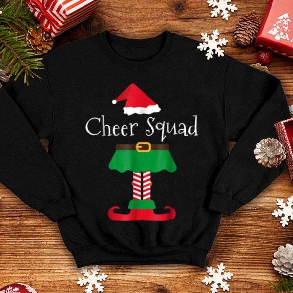 Awesome Cheer Team Cheerleader Elf Family Pajama Christmas sweater