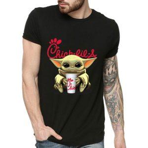 Baby Yoda Hug Chick Fil A shirt