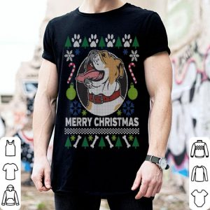Bulldog Breed Ugly Christmas Style sweater