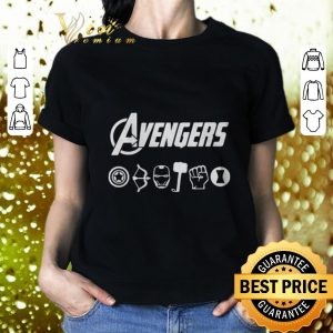 Cool Avengers Endgame Captain America Hawkeye Iron Man Thor Hulk Black Widow shirt