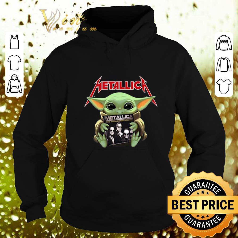 Cool Baby Yoda hug Metallica Star Wars shirt 4 - Cool Baby Yoda hug Metallica Star Wars shirt