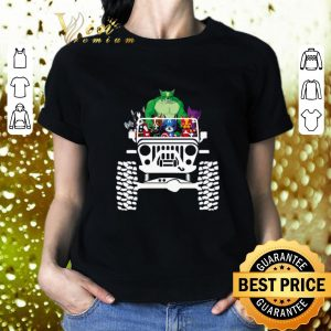 Cool Chihuahua in the Jeep Avengers Endgame shirt