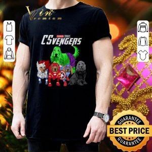 Cool Cocker Spaniel CSvengers Marvel Avengers Endgame shirt 2