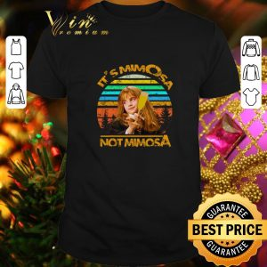 Cool Harry Potter It's Mimosa Not Mimosa Vintage Hermione shirt