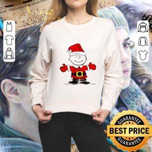 Cool Santa Charlie Brown Merry Christmas shirt