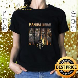 Cool Star Wars The Mandalorian Group Line Up shirt 1