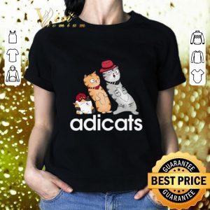 Cool adicats cartoon cat adidas shirt