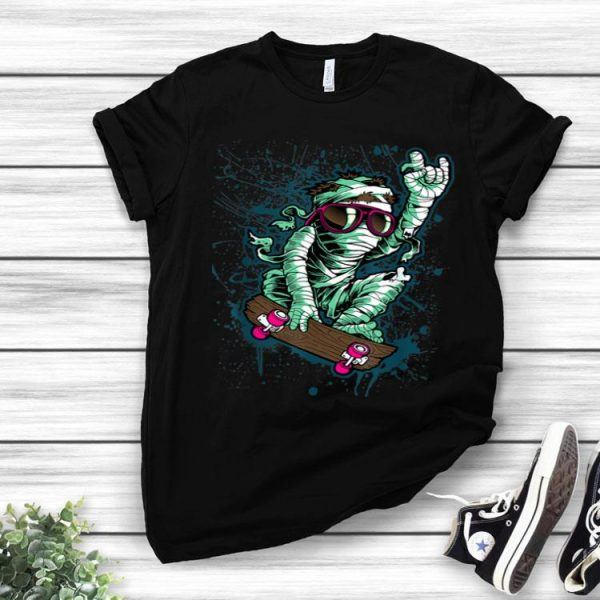 Mummy Skateboard Skateboarding Lovers shirt