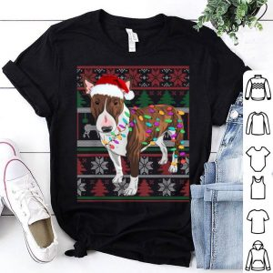 Nice Bull Terrier Ugly Sweater Christmas Gift sweater