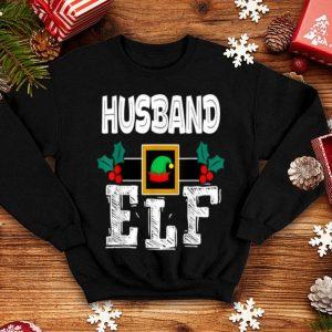 Nice Husband - ELF Heart Christmas Matching Family Ugly Gift sweater
