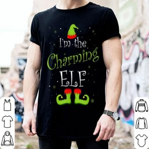 Nice I'm The Charming Elf Christmas Group Matching Family Xmas sweater