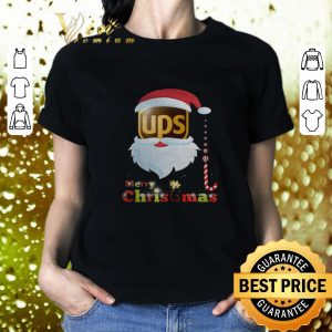 Nice Santa Claus Ups Merry Christmas shirt