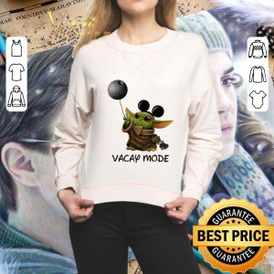 Official Baby Yoda Mickey Vacay Mode Death Star Wars shirt